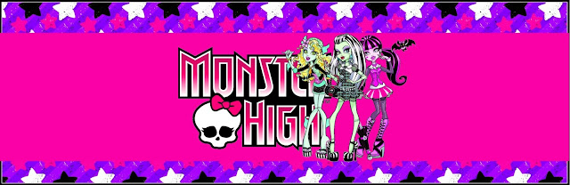 Monster High: tarjetería para imprimir gratis.