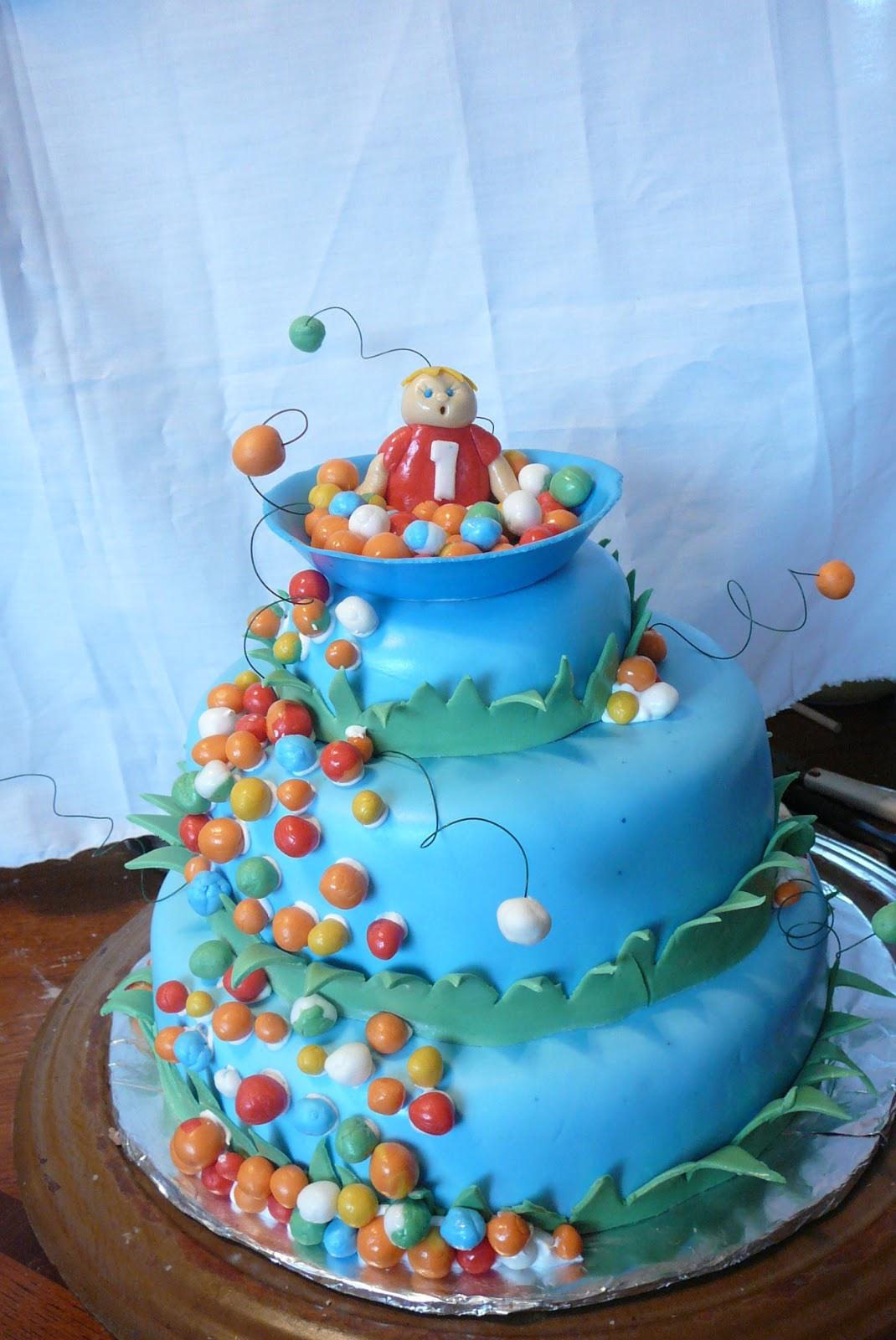 Bakeshows Cake show: Ball Pit Birthday