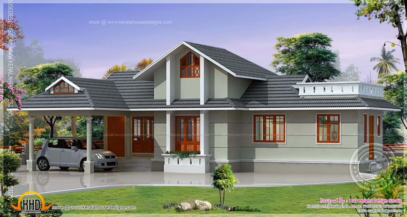 January 2014 kerala home design and floor plans for Kerala home designs 2014