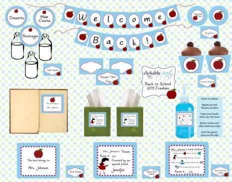 FREE printables} free back to school printables - Creative Juice