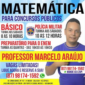 MATEMÁTICA PARA CONCURSOS