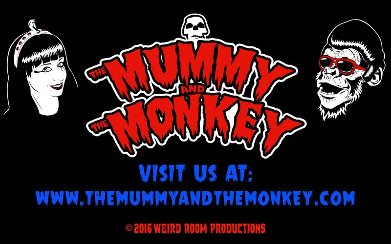The Mummy and The Monkey