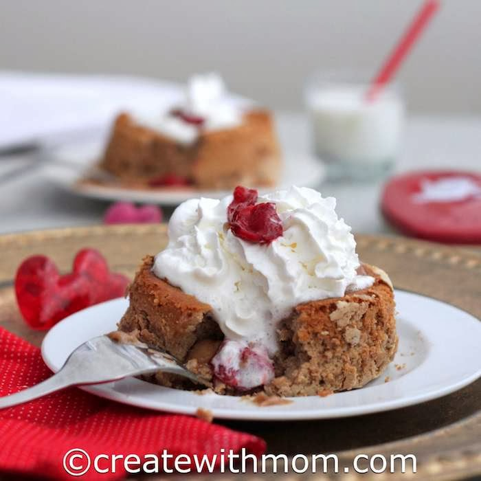 Create With Mom: Warm French Molten Chocolate Cake With Whipped Cream