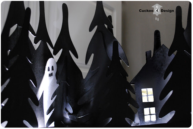 Ikea Strala Halloween haunted woods light hack