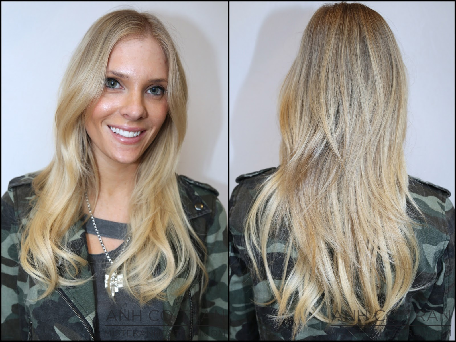 Nyc Lyndsey Fresh Length Tape Extensions And Texture Anh Co Tran