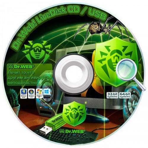 Download Dr.Web LiveDisk CD/DVD & USB 9.0