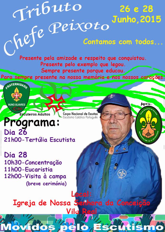 TRIBUTO CHEFE PEIXOTO