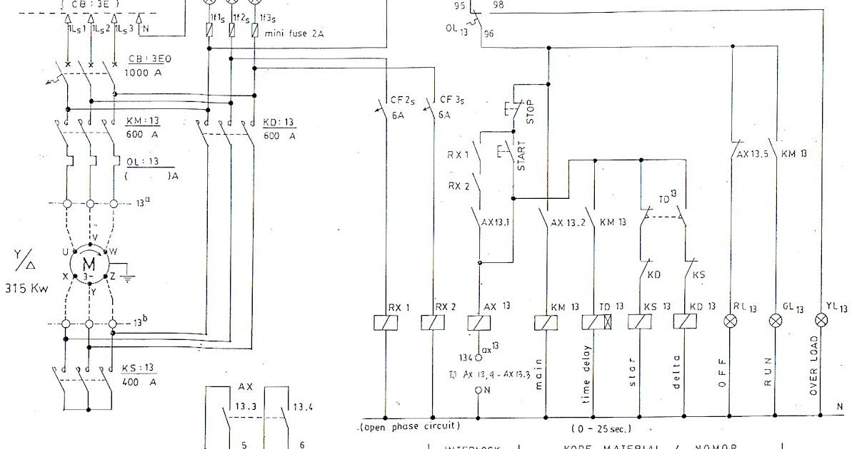 wiring diagram sistem penerangan pada mobil