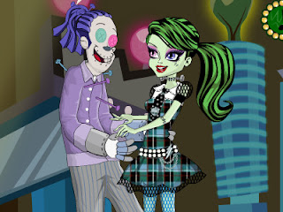 Juego de parejas de Monster High: Frankie y Hooduce