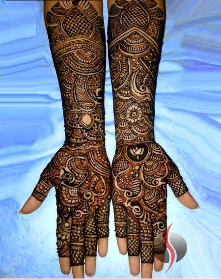 Bridals Amp Grooms Styles Latest Arabic Bridal Mehndi