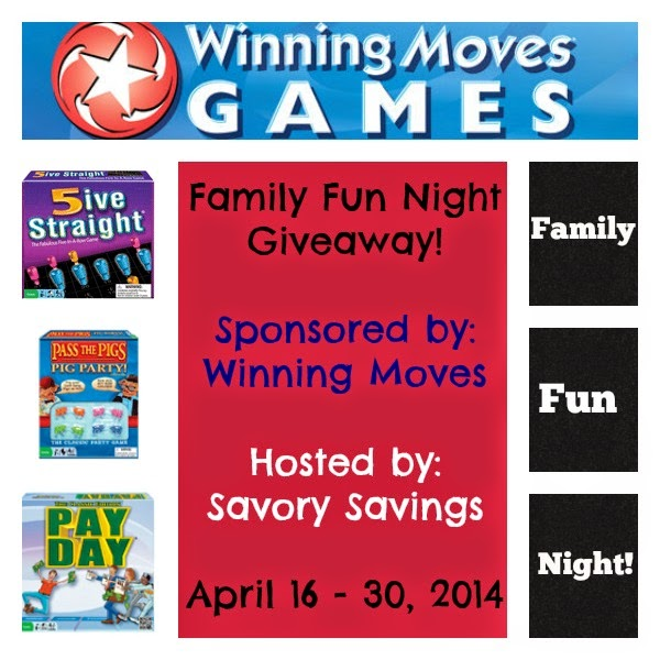 Family Fun Night Giveaway