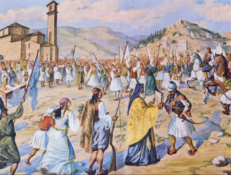 Ο εθνικοαπελευθερωτικός αγώνας των Ελλήνων του 1821