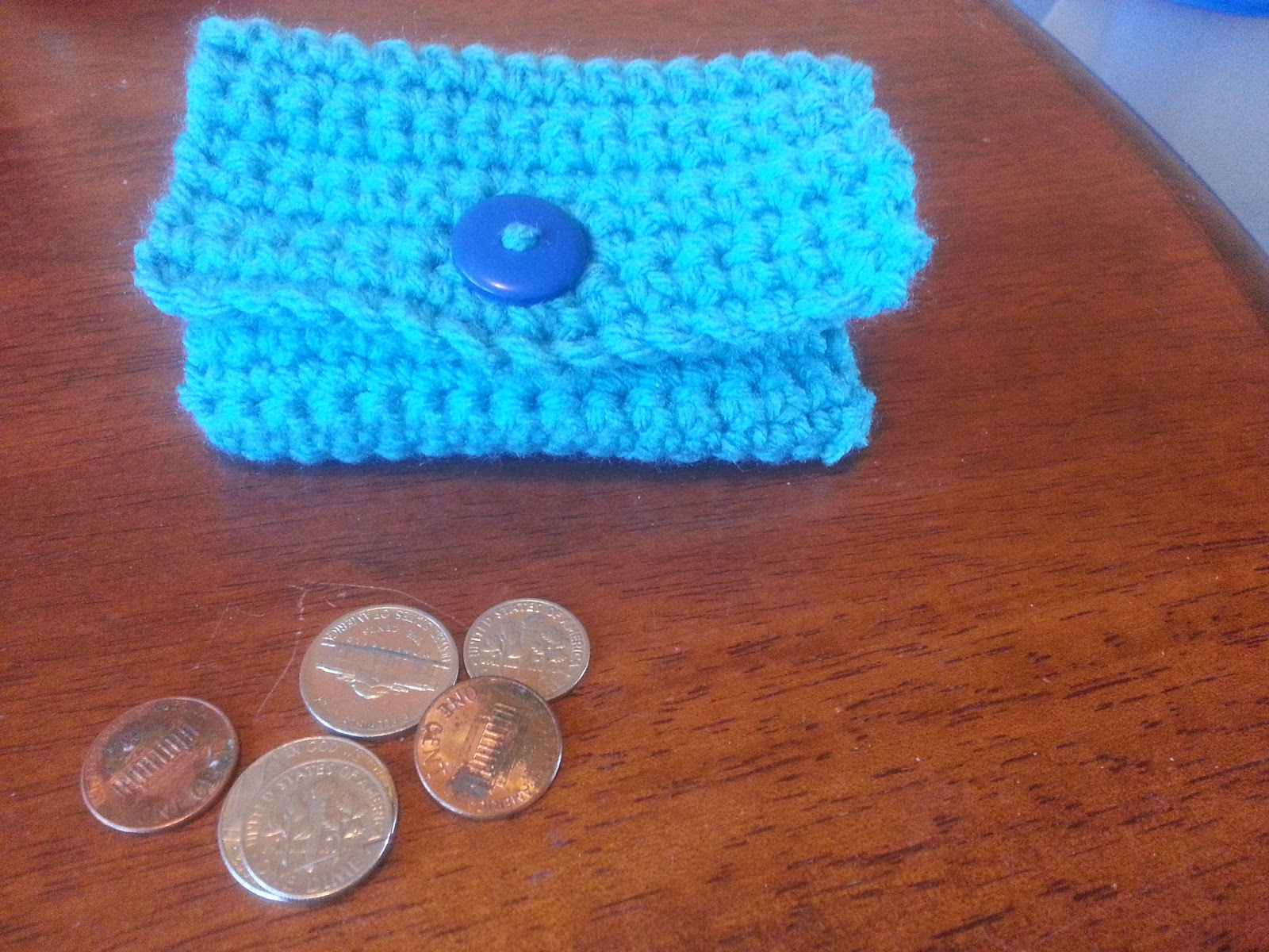 Simple Crochet Coin Purse : Collection of Crochet Stitches: Pattern: Easy Coin Purse/Wallet