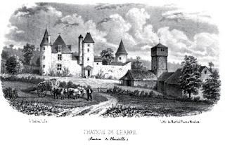 patrimoine de l'Allier château de Chareil