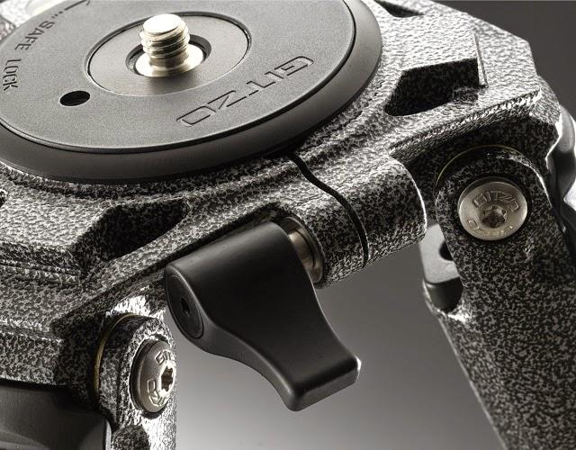 Dettaglio del treppiede in carbonio Gitzo GT3530LS