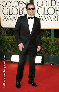 Actor Brad Pitt arrives at the 68th Annual Golden Globe Awards in Beverly Hills