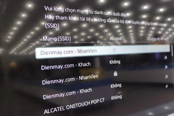Hướng dẫn kết nối mạng cho Tivi Sony qua wifi 8