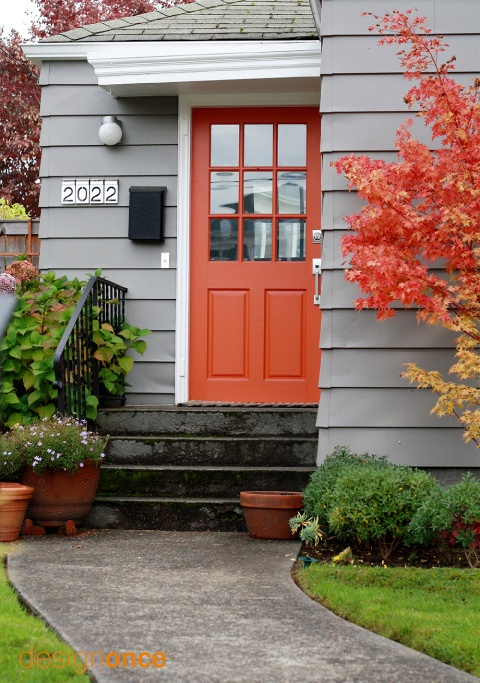 Trend Spotting Orange Front Doors Little House Design