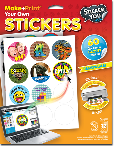 How To Print Your Own Labels At Home Being Frugal And Making It Work Print Your Own Stickers