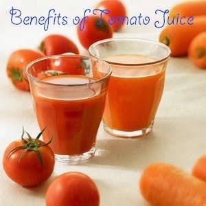 Health benefits of tomato juice