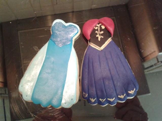 Galletas De Elsa Y Anna De Frozen