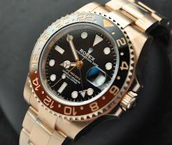 Rolex GMT Master II Rootbeer Everosegold