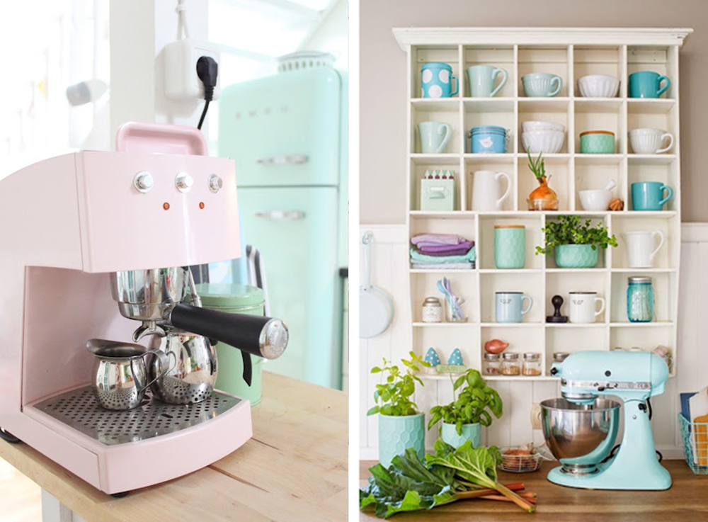 Decoración Fácil 6 ideas para dar color pastel a la cocina