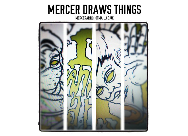 Mercer Draws Things<br>(What A Waste Of Gravity)