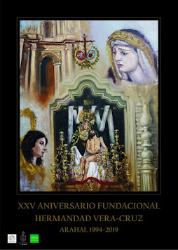 Cartel XXV Aniversario Fundación Hdad Vera Cruz Arahal