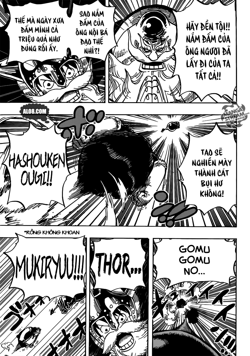 One Piece Chapter 719: Chinjao ơi, mở ra! 013