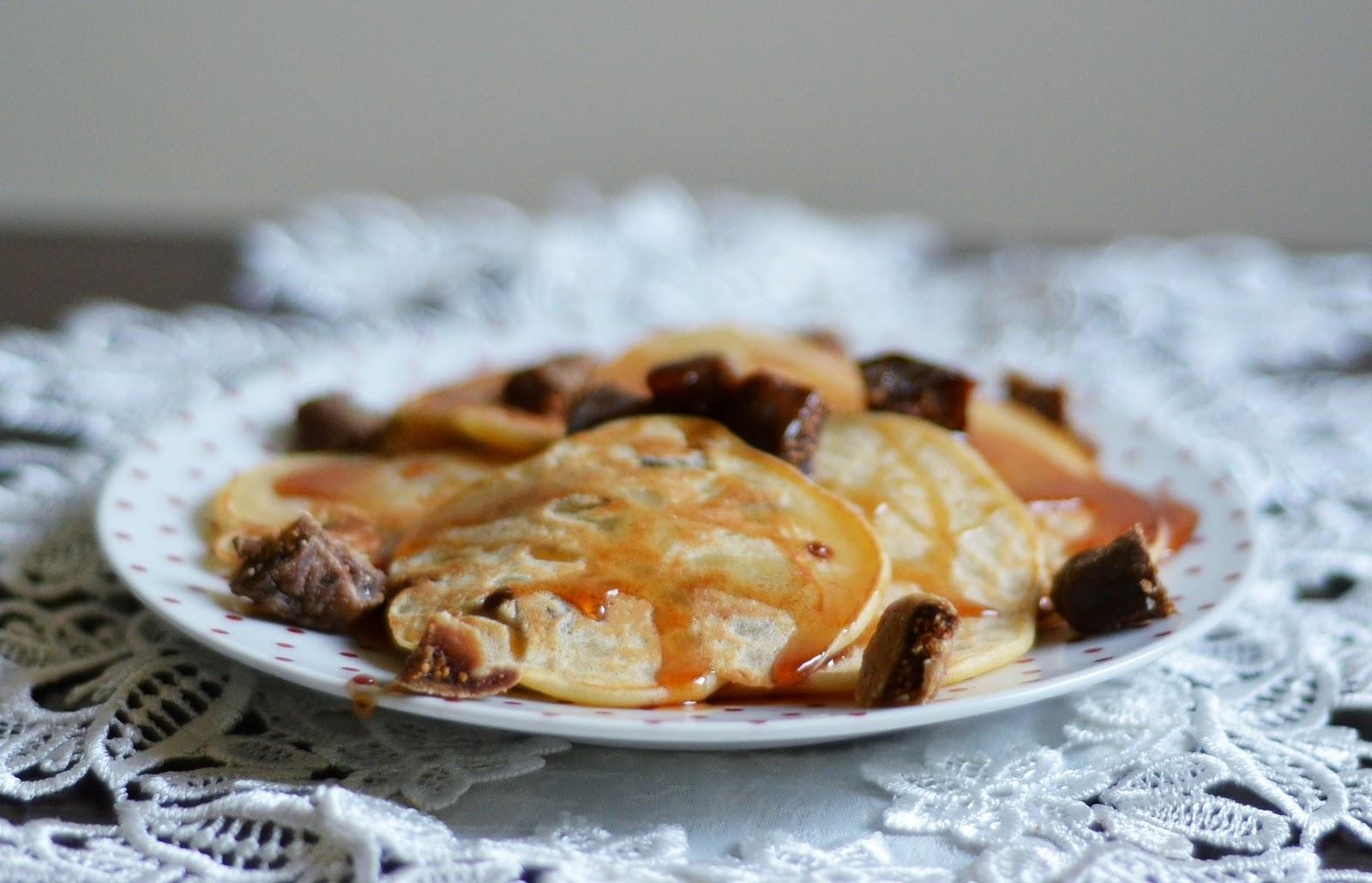 dietetyczne placuszki z figami