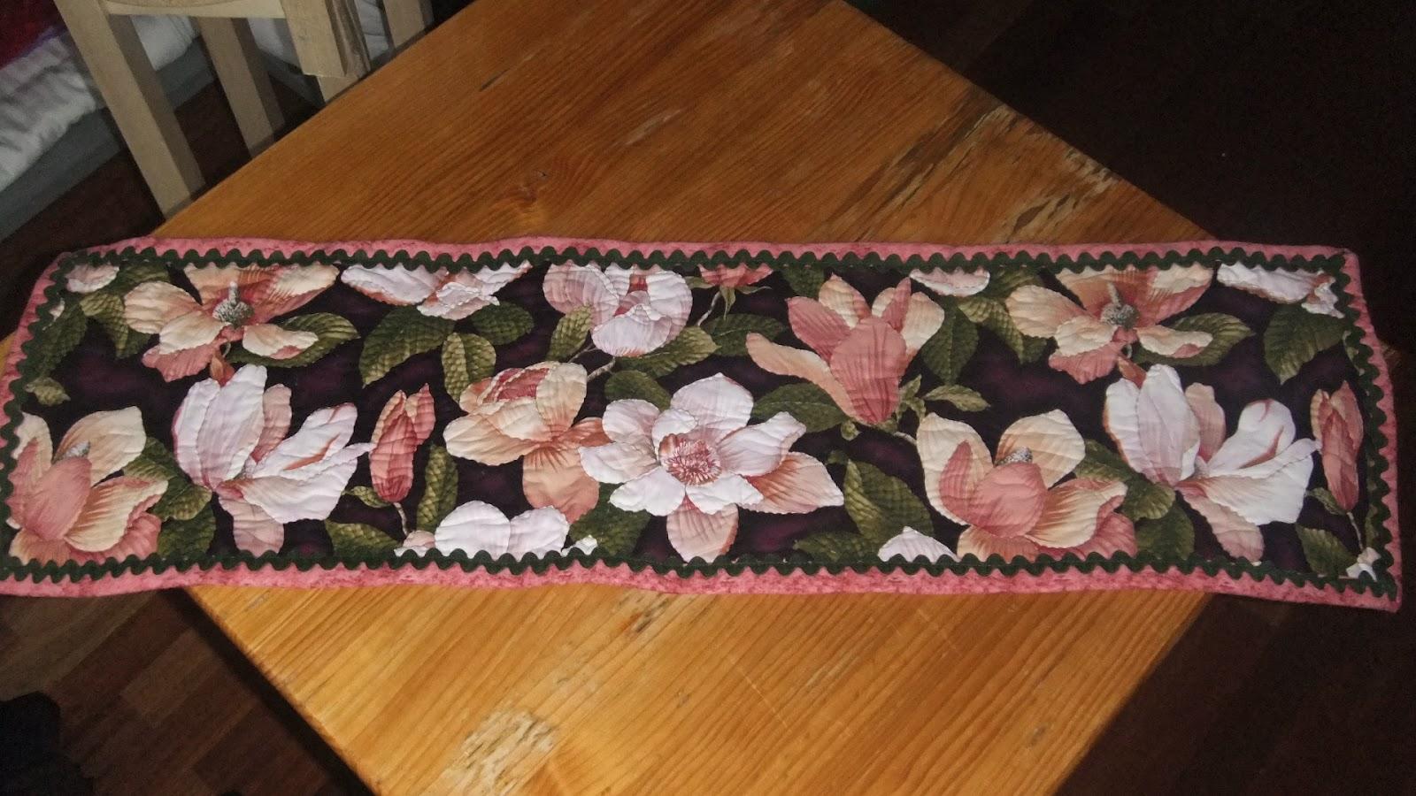 El patchwork de sary 6 camino de mesa - Camino mesa patchwork ...