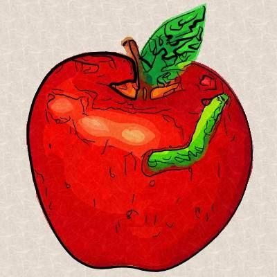 Poma i cuc (Clara de Jaume)