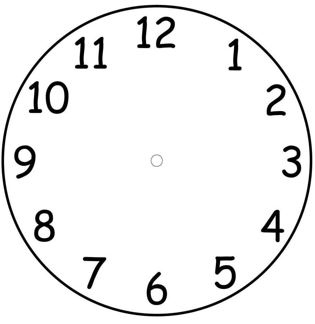 Kolorowe dzieci stwo zegar do nauki i zabawy - Como hacer un reloj de pared ...