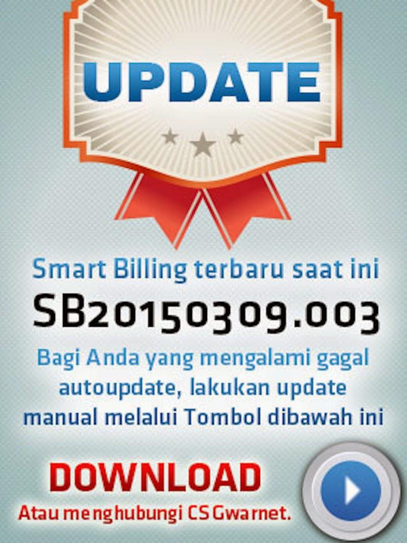 Error Update? Download Update Smart Billing Terbaru di Situs GWarnet
