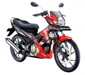 jual motor bekas satria fu di pekanbaru