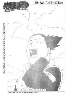 Naruto Mangá 296 – (Leitura Online)