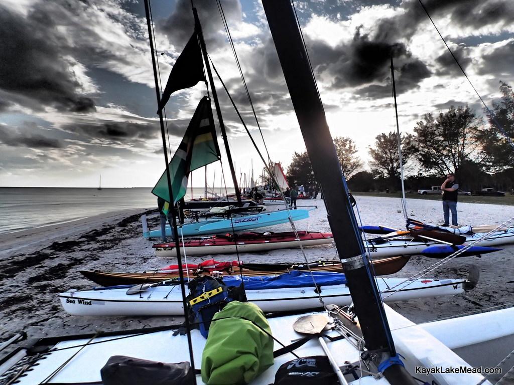 Start Beach, Everglades Challenge 2013