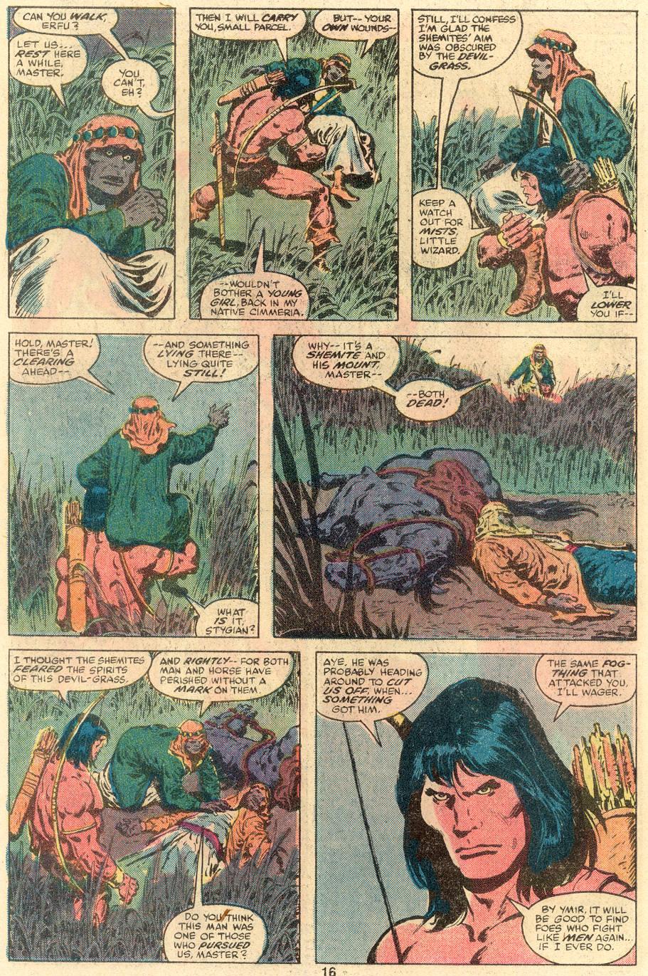 Conan the Barbarian (1970) Issue #109 #121 - English 11