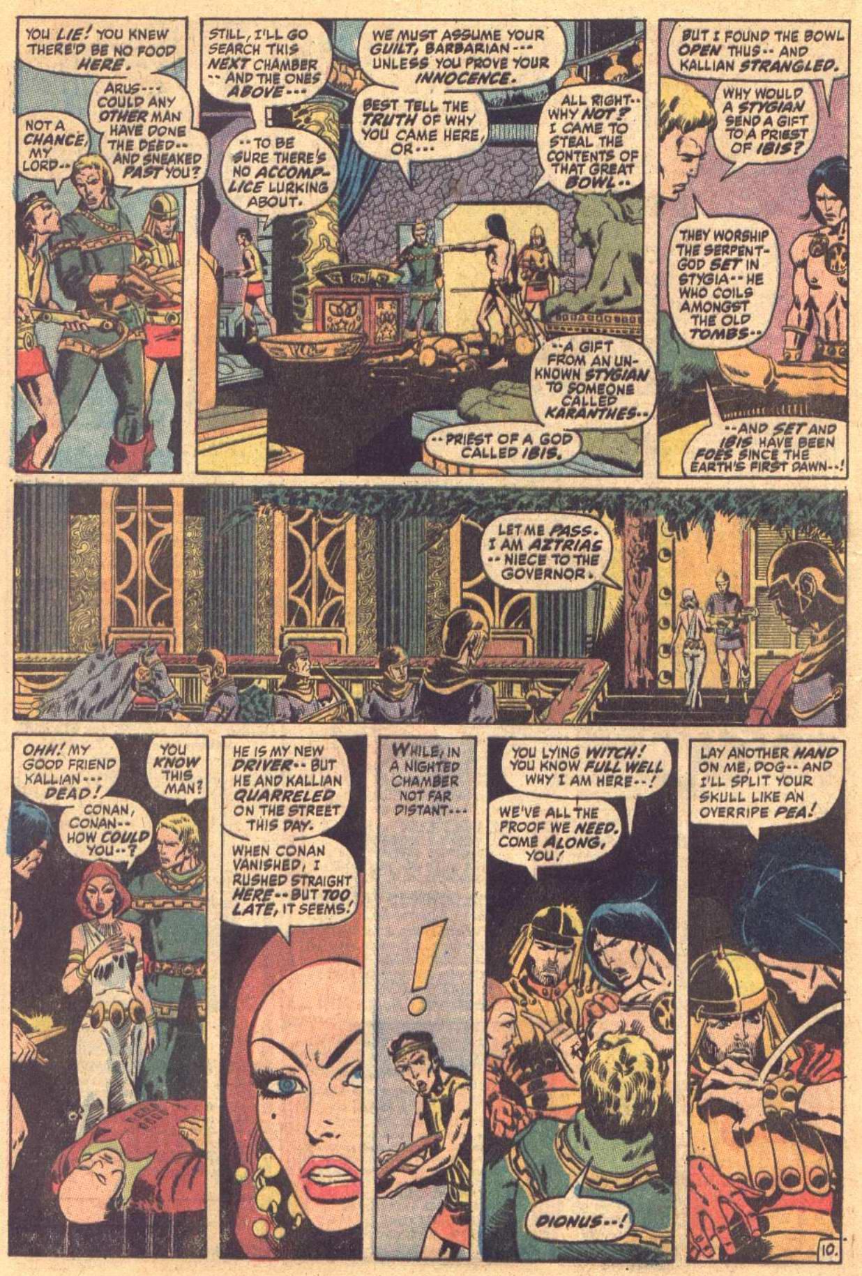 Conan the Barbarian (1970) Issue #7 #19 - English 11