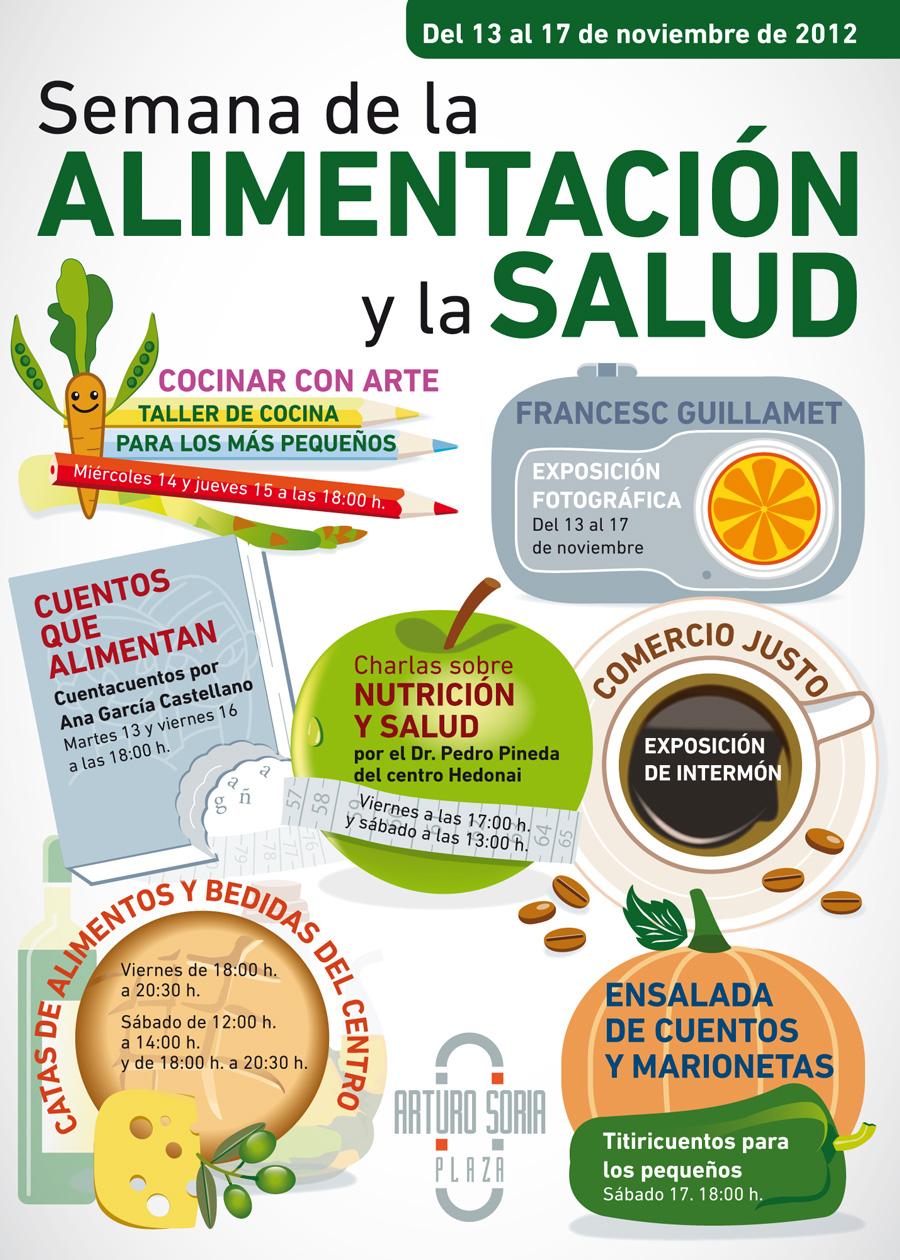 Rtica cartel para la semana de la alimentaci n y la salud for Cocinar un dia para toda la semana