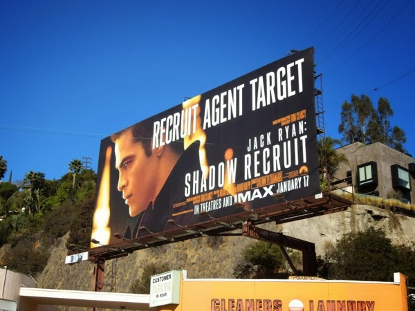 Shadow Recruit movie billboard