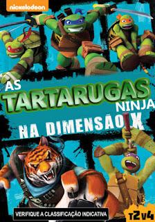 As Tartarugas Ninja na Dimensão X - DVDRip Dublado