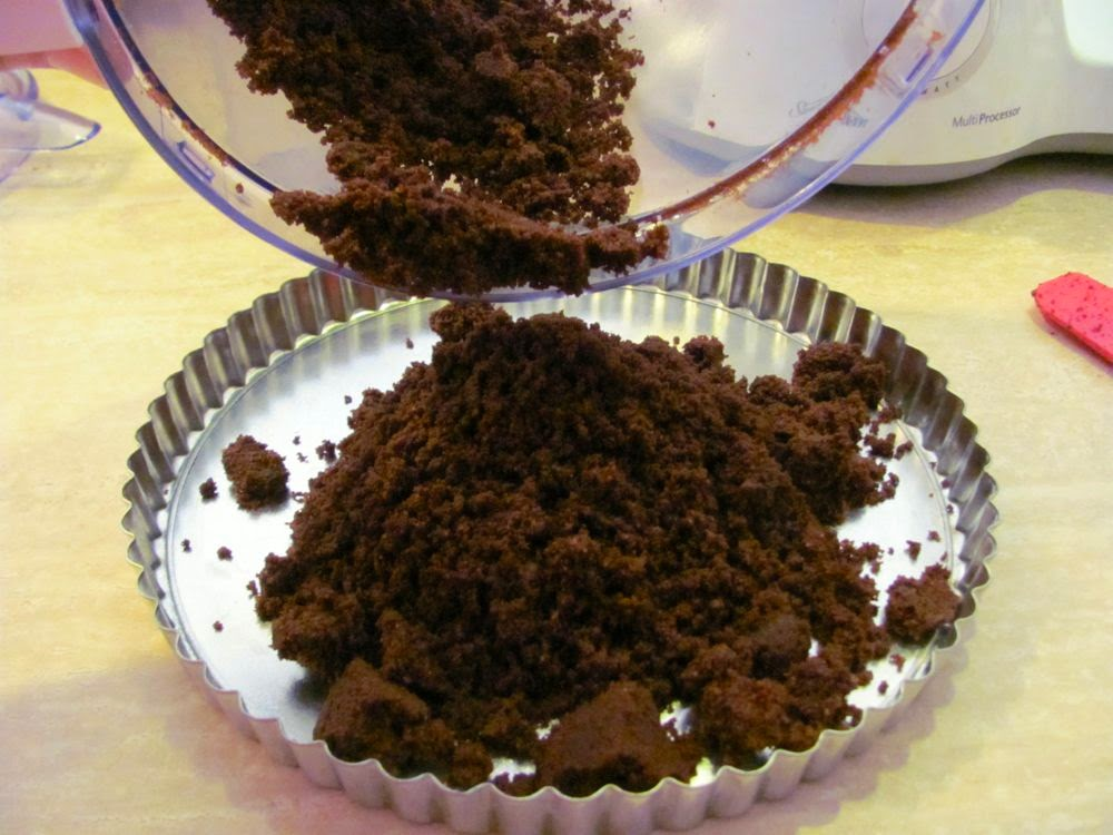 Cooking, Crafts and Freedom: COOKING: Triple Chocolate Mud Pie