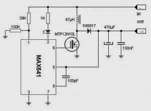 3v to 5v converter schematic