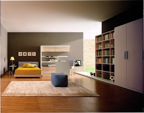 ide interior desain interior kamar tidur remaja