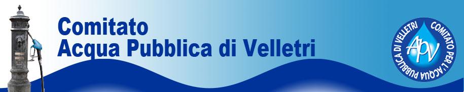 Comitato Acqua Pubblica Velletri