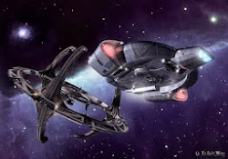 DS9, Defiant and the wormhole