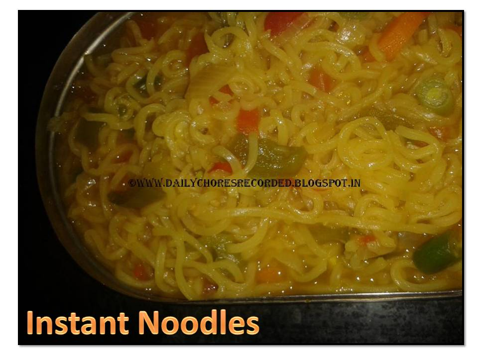 Instant Noodles (Mixed Veg)