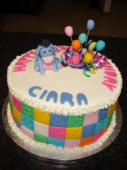 Eyore Cake